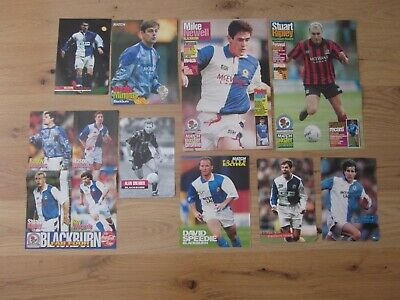 BLACKBURN ROVERS - Bundle of football magazine player pictures/posters - Set 1
