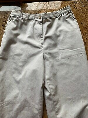 Lands End Womens Pants Highrise Straight Leg Size 8