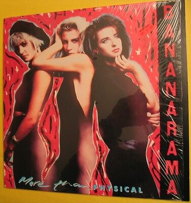 Bananarama More Than Physical 12 Inch Maxi Single Vinyl Record 1986 3 Mixes