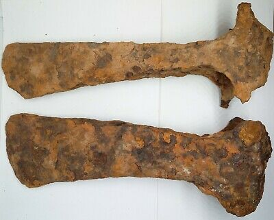 Large Iron Axe 2pc. / Viking  900–1100AD. Rus