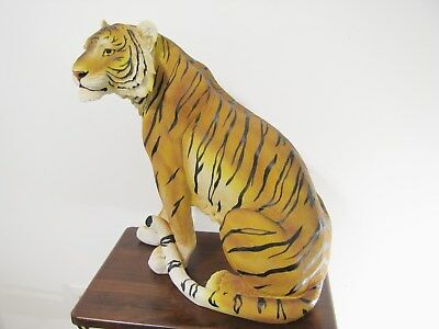 Tall/ Large Tiger Statue Figurine. Brand New. 19 inches tall.