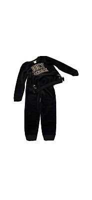 Girls Black Juicy Couture Size 6 Set NWT