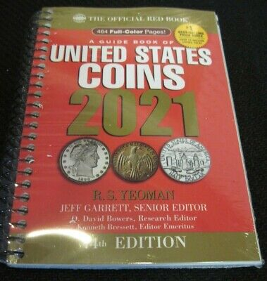 2021 Whitman Official Red Book of US Coins- 74th Edition - Spiral Bound *NEW*