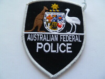 aust old obsolete BLACK type fed  patch