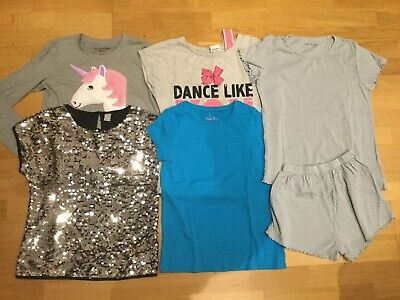 Girls Clothes Bundle Age 11-12 Abercrombie Fitch Next Pjs Jojo Siwa Sequin Top