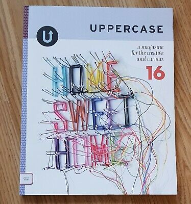 UPPERCASE Magazine Volume 16 for the creative and curious