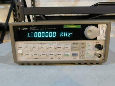 HP Agilent 33120A 15Mhz Function/ Arbitrary Waveform Generator (815-20)