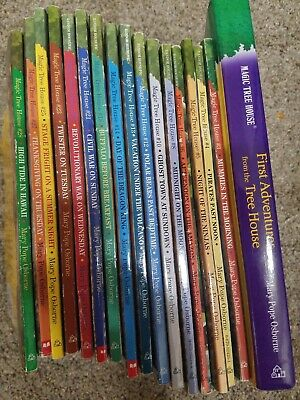 Magic Tree House Books Lot Of 18 #1-6 Plus More