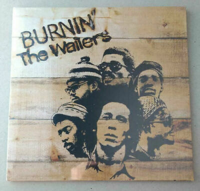 The Wailers sealed vinyl LP Burnin' Bob Marley Peter Tosh get up stand up NEW