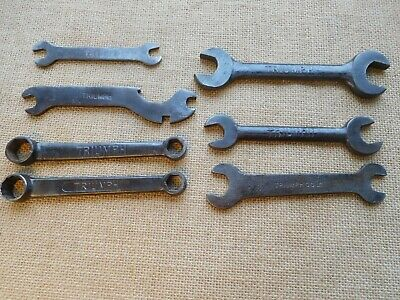 7 Triumph motorcycle spanners classic vintage bike wrench old motor bike  /3016