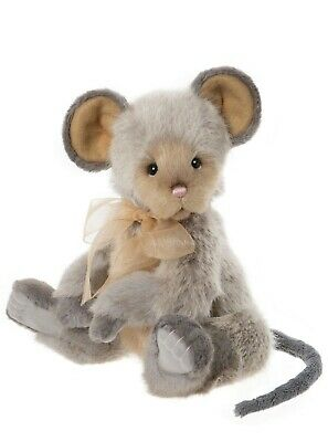 Collectable Charlie Bear 2020 Plush Collection - Roulade -The Very Cutest Mouse