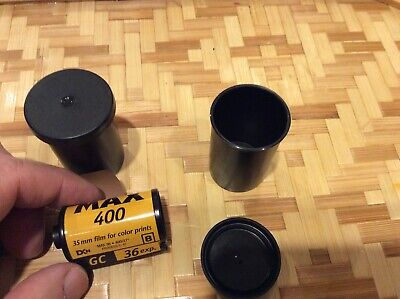 Lot of 2 NEW Rolls 35mm FILM* KODAK MAX 400 Speed/36 Exposure*EXPIRED