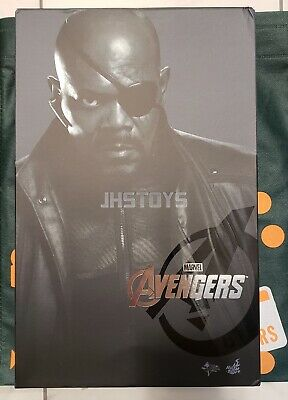 gloved hands #1 1//6 Scale Hot toys MMS169 The Avengers Nick Fury