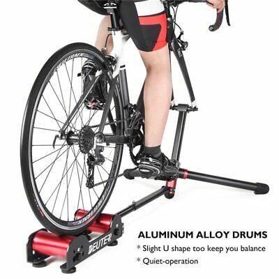 Bike Roller Trainer Resistance Portable Indoor Home Exercise Cycling Stationary