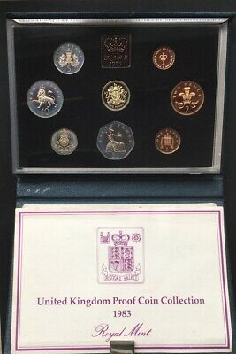 Gb-Royal Mint 1983 Proof Coin Collection.