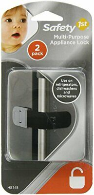 Pack Of 3 Safety 1st Multi-Purpose Appliance Lock Decor, 2-Count