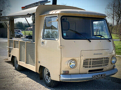 Peugeot J7 French vintage van , catering ,foodtruck