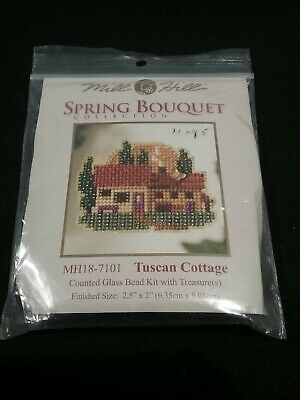 Mill Hill Bead Kit - tuscan cottage - Spring bouquet collection