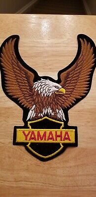 Yamaha motorcycle Eagle patch.