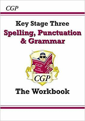Spelling Punctuation and Grammar for KS3 - the W by CGP Books New Paperback Book
