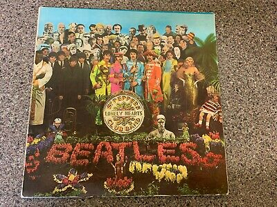 The Beatles SGT Peppers GREEK Rare Early Issue GREEK LP