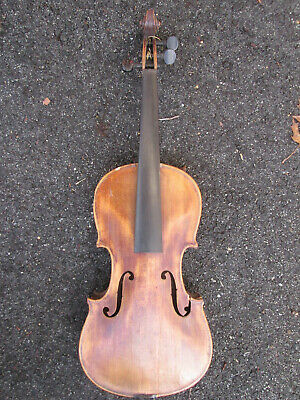 Vintage 1900s Jacobus Stainer Absam Prope Oenipontum 1716 Violin TYPE PARTS ONLY
