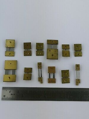 Lot of 12 Clock Suspension Springs - High Quality Vintage Parts (12d)