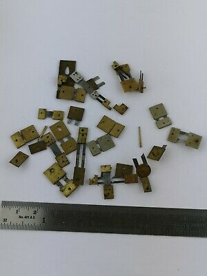 Lot of Vintage Clock Suspension Springs, Some broken or partial parts (12f)