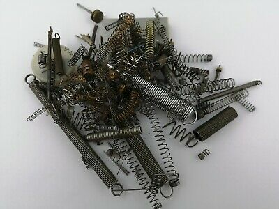 Lot of Clock Coil Springs from A Clockmakers Collection - Spare Parts (T29)