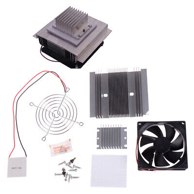 60W TEC1-12706 Thermoelectric Peltier Module Water Cooler Cooling System MC B9