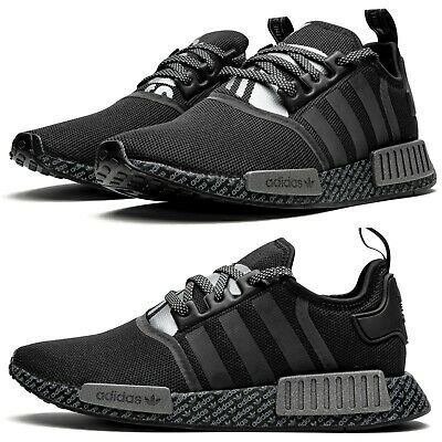 New Adidas Nmd R1 V2 Mens Athletic Sneaker Casual Boost Gray All