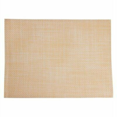 APS PVC Beige Placemat (Pack of 6) GJ994 [O214]