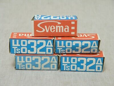 Color reversal CO-32d roll film, 120 print, 5 pcs,Svema, expired, lomography