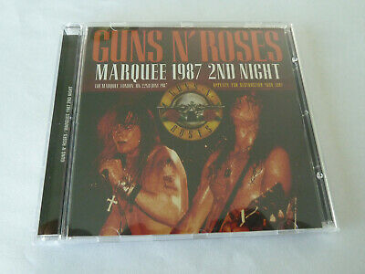 GUNS N ROSES MARQUEE 1987 2nd NIGHT SLASH Ozzy Bon Jovi Motley Crue JAPAN CD