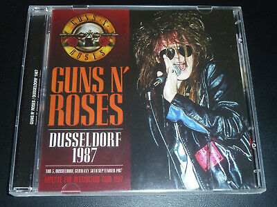 GUNS N ROSES DUSSELDORF 1987 SLASH Kiss Bon Jovi Motley Crue Ozzy JAPAN CD