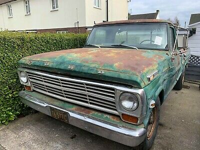 1969 American Ford F250 Pick Up Fresh California Import