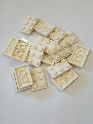 USED 2 x 3 YELLOW  PLATES x 20 PART 3021
