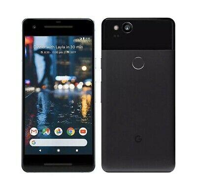 Google Pixel 2 XL 64Gb Just Black EE Network Good Condition 4G Free Uk Post