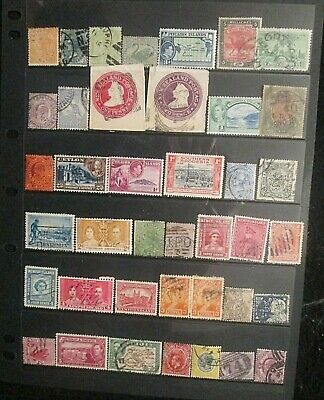 BRITISH EMPIRE  QV.-KGVI mixed mint and used lot 37