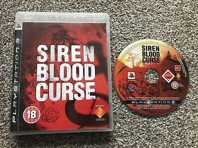 Siren Blood Curse Sony Playstation 3 Ps3 Game Official Uk Pal Vgc