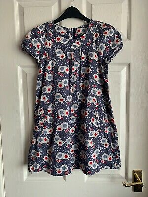 Mini Boden Girls Floral Dress Size 9-10 Years