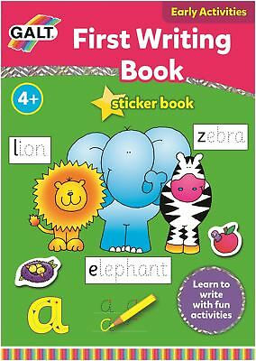 Galt FIRST WRITING BOOK Children Educational Toys And Activities BNIP
