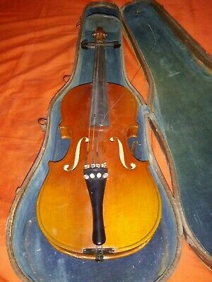 * VINTAGE * COPY OF STRADIVARIUS VIOLIN by WILHELM EBERLE * GERMANY *