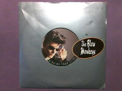 "The Blow Monkeys - Digging Your Scene (7"" single) die cut picture sleeve PB40599"