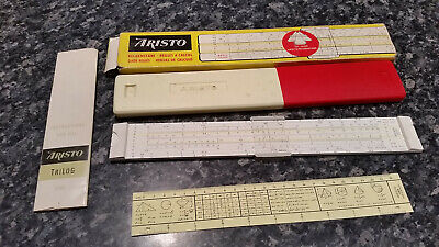 Vintage Aristo Slide Rule Trilog
