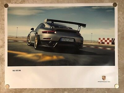 Awesome L@@K 1976 Porsche 911 Coupe Showroom Advertising Sales Poster RARE!