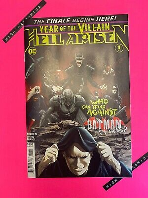 Year Of The Villain Hell Arisen #1 Steve Epting Cover A DC Comics 2020 NM