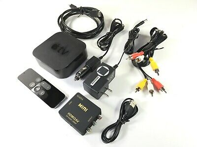 APPLE TV 4th GEN A1625 32gb CONVERTED 12v WORKS ON CAR AND HOME