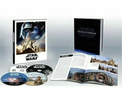 Star Wars Rise Of Skywalker 4K Bluray Digital Target Exclusive New & Sealed!!!