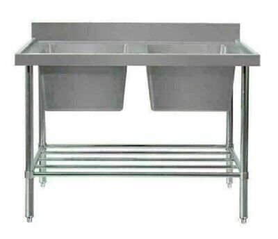 Double Sink Bench - W1200 x D600 x H900